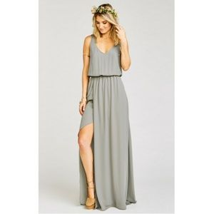 Show Me Your Mumu Kendall Chiffon Maxi Dress